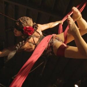 Jen Dollface: Aerial Silks