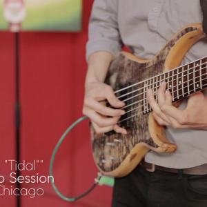 "Woo Park – ""Tidal"" – Live @ Rax Trax Studios"
