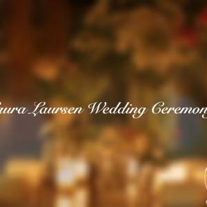 John & Laura Laursen Wedding Ceremony 01.18.14