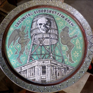 "Lagunitas/Bloodshot ""FEW Brew"" Barrel Painting w/ Jon Langford"